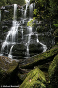 Nelson Falls, Tasmania, Australia