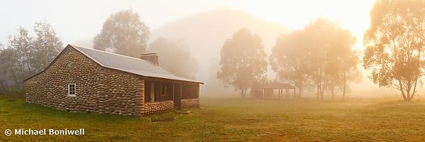 Geehi Hut Dawn, Kosciuszko National Park, New South Wales, Australia