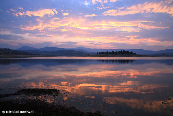 Lake Jindabyne Sunset, New South Wales, Australia