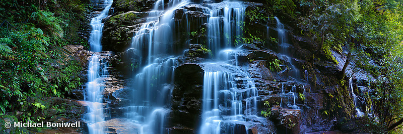 Sylvia Falls, Blue Mountains, New South Wales, Australia