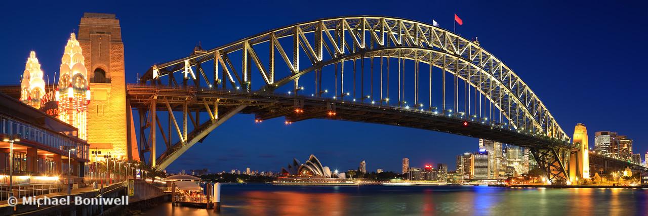 Sydney Harbour Bridge, New South Wales, Australia