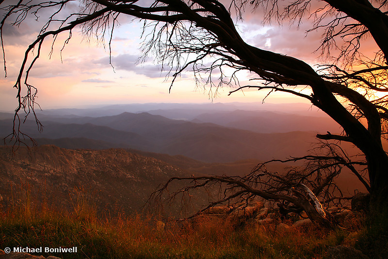 The Horn Sunset, Mt Buffalo, Victoria, Australia