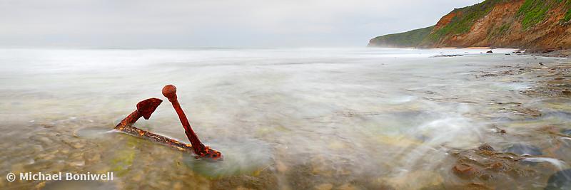 Marie Gabrielle Anchor, Shipwreck Coast, Great Ocean Road, Victoria, Australia