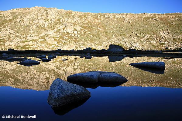 Early Morning Reflections, Mt Kosciuszko Summit, New South Wales, Australia