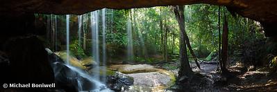 Oakland Falls Cave, Hazelbrook, New South Wales, Australia