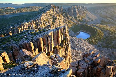 Ben Lomond Dawn, Tasmania, Australia