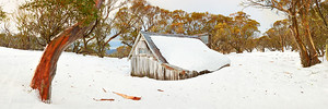 Snowed In, Wallace Hut, Falls Creek, Victoria, Australia