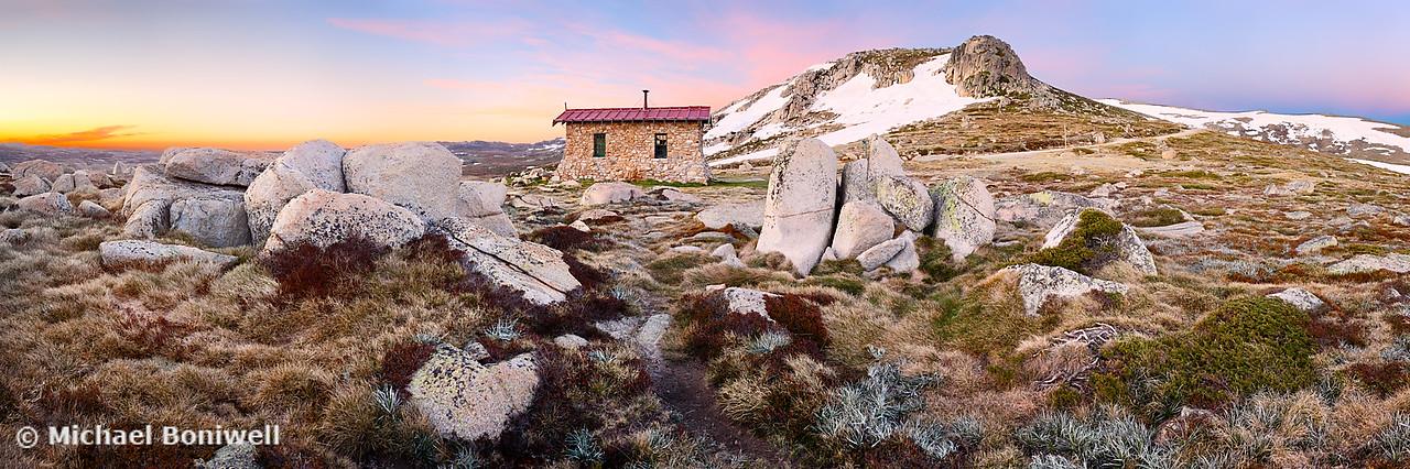 Seamans Hut, Mt Kosciuszko, New South Wales, Australia