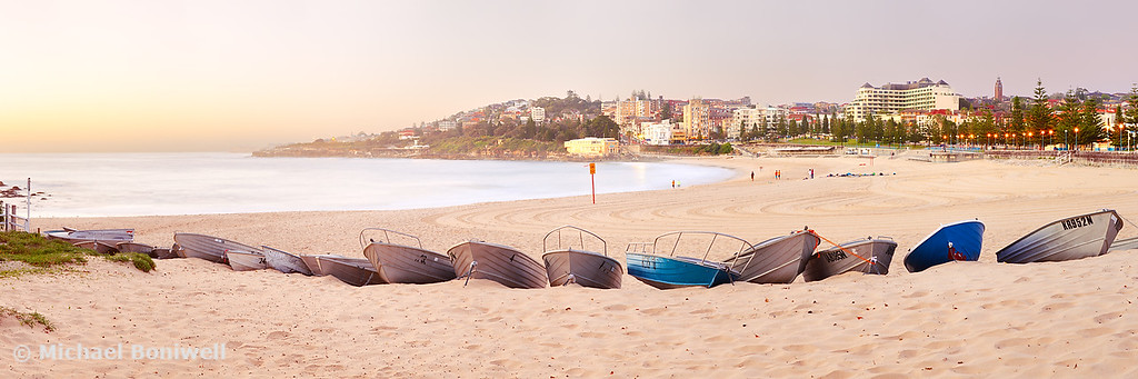 Coogee Beach Boats, Sydney, New South Wales, Australia