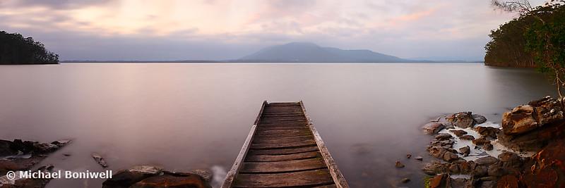 Queens Lake, Port Macquarie, New South Wales, Australia