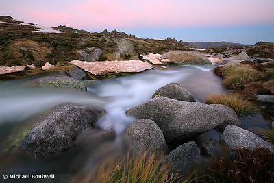 Mountain Stream, Mt Kosciuszko, New South Wales, Australia
