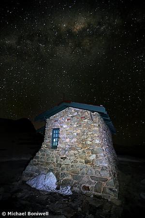 Star Filled Sky, Seamans Hut, New South Wales, Mt Kosciuszko, Australia
