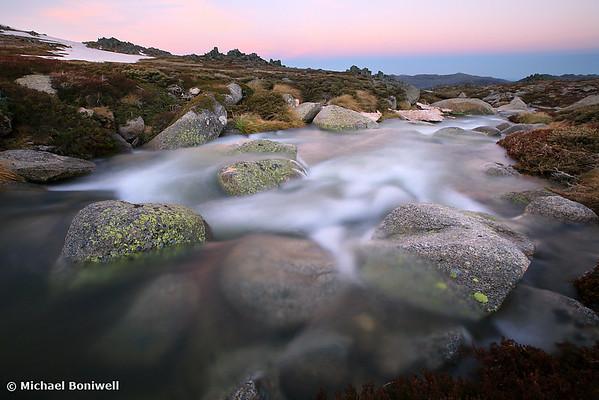 Mountain Stream, Mt Kosciuszko, New South Wales, Australia