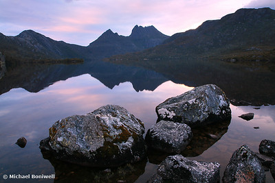 Dove Lake Dawn, Cradle Mountain, Tasmania, Australia