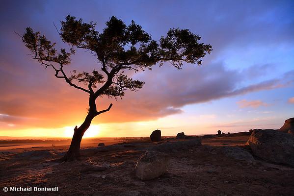 Dog Rocks Sunset, Geelong, Victoria, Australia