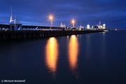 Geelong Pier at Dusk, Victoria, Australia
