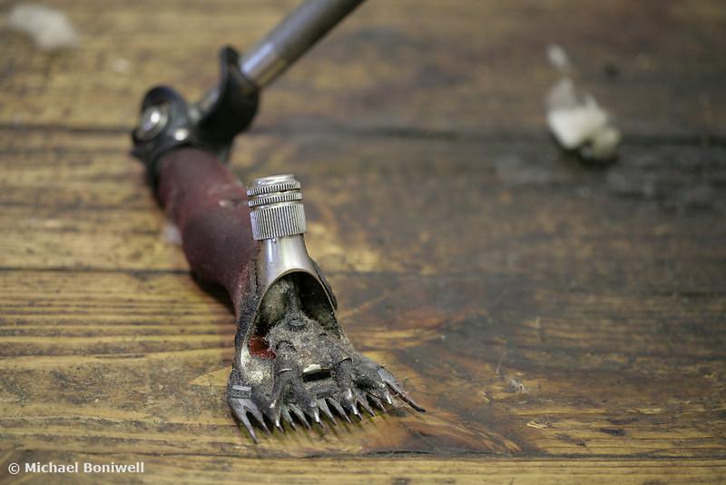 Shearing Hand-piece