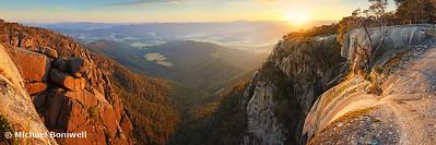 Mt Buffalo Gorge Dawn, Victoria, Australia