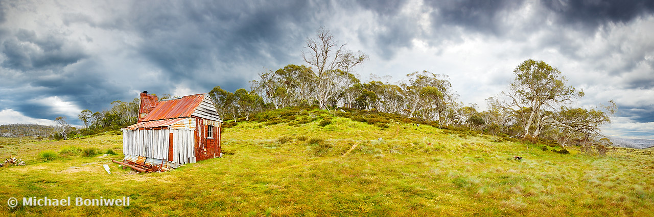 Four Mile Hut, Kosciuszko, New South Wales, Australia