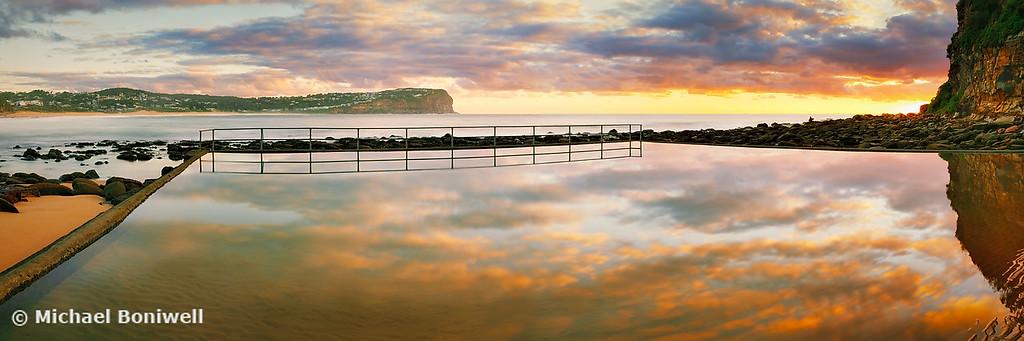 MacMasters Beach Sea Pool, New South Wales, Australia
