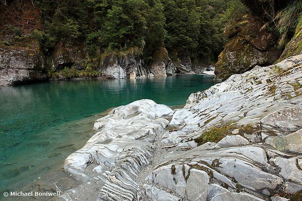 Blue Pools, West Coast, South Island, New Zealand