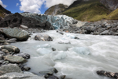 Fox Glacier, South Island, New Zealand