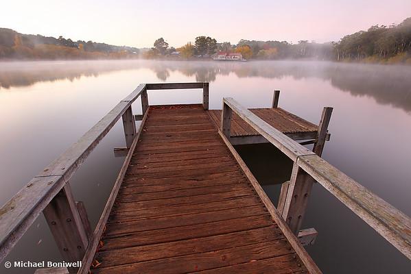 Dawn Mist, Lake Daylesford, Victoria, Australia