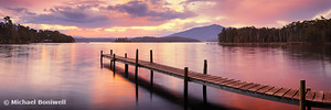 Lake Wallaga, Bermagui, New South Wales, Australia