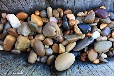 Beach Stones, North-West Coast, Tasmania, Australia