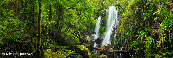 Chalahn Falls, Lamington National Park, Queesland, Australia
