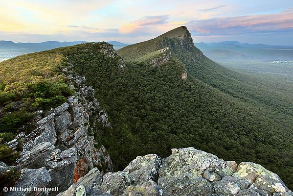Signal Peak guards Twilight, Grampians, Victoria, Australia
