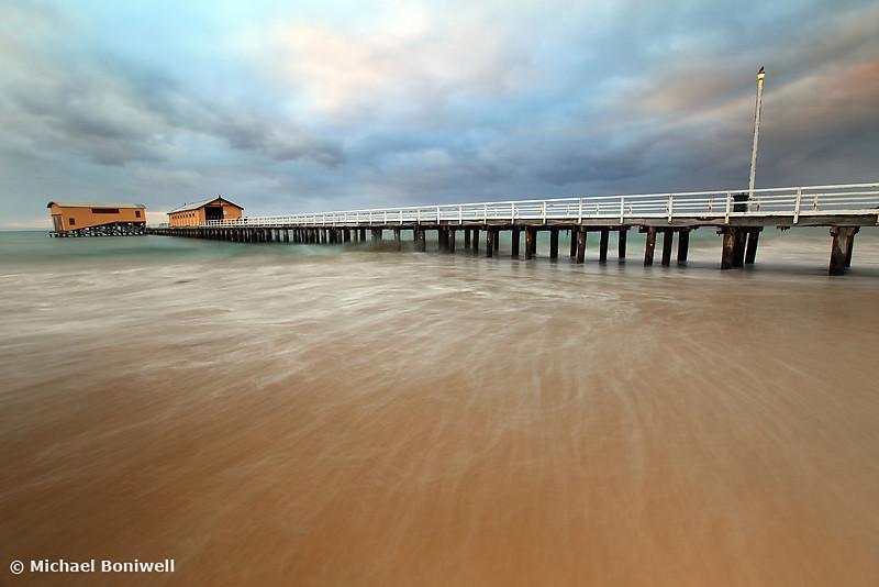 Queenscliff Pier Dawn, Victoria, Australia