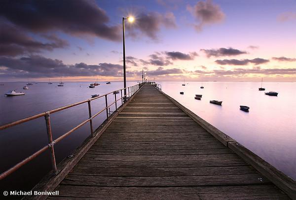 Pre-dawn Glow, Mornington Peninsula, Victoria, Australia