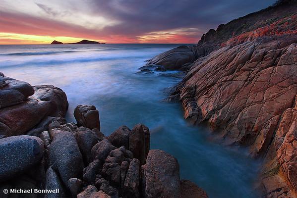 Whisky Bay Dusk, Wilsons Promontory, Victoria, Australia