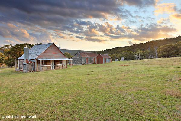 Coolamine Homestead Morning, Kosciuszko National Park, New South Wales, Australia