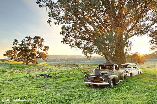 End of the Road, Bendigo, Victoria, Australia