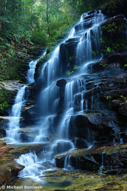 Sylvia Falls, Blue Mountains, New South Wales, Australia