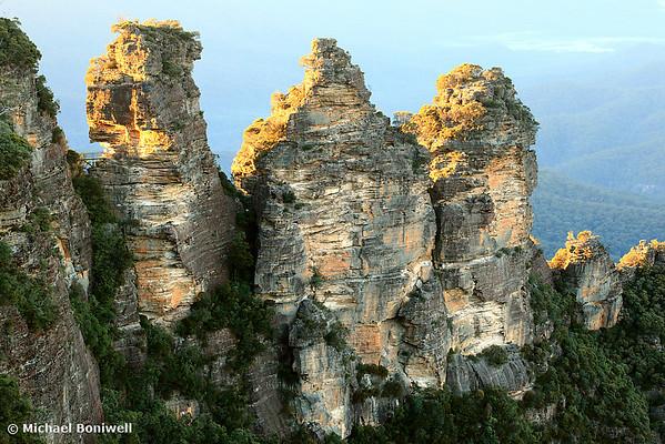 Three Sisters Dawn, Blue Mountains, New South Wales, Australia