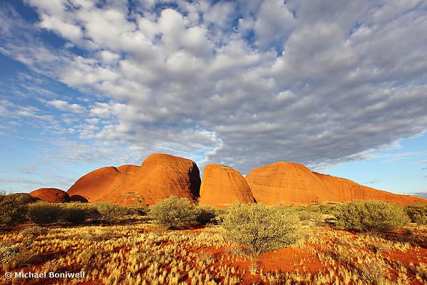 Kata Tjuta (The Olgas), Sunset, Northern Territory, Australia