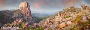 Crator Bluff, Warrumbungles National Park, New South Wales, Australia