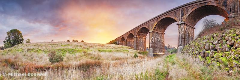 Malmsbury Viaduct, Victoria, Australia