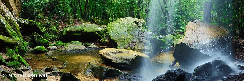 Horseshoe Falls, Hazelbrook, New South Wales, Australia