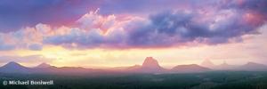 Wild Horse Mountain Lookout, Glass House Mountains, Queensland, Australia