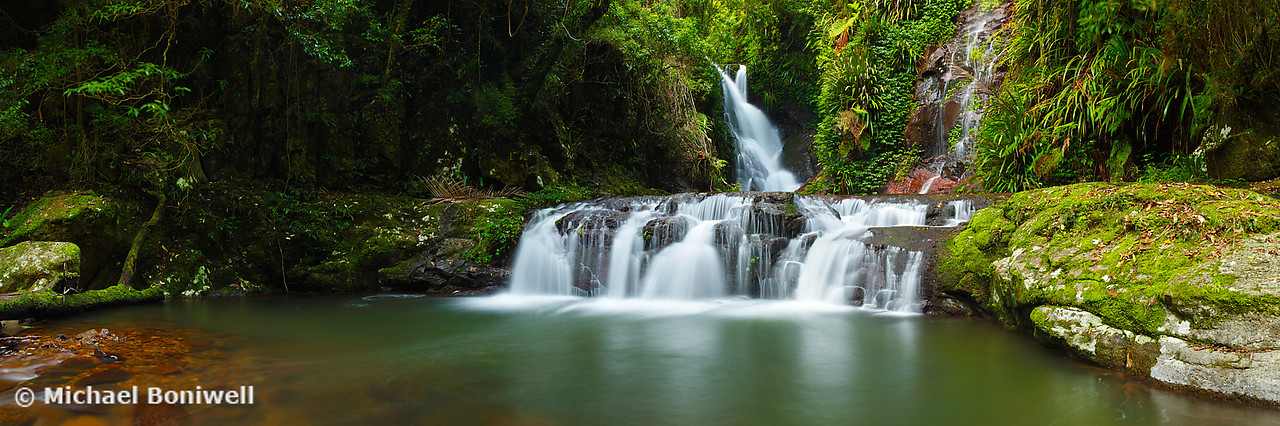 Elabana Falls, Lamington National Park, Queensland, Australia