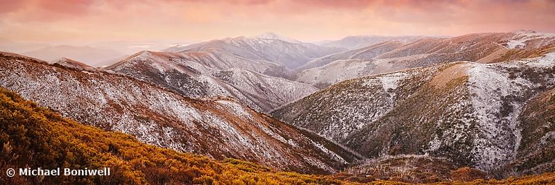 Mt Feathertop Sunset, Victoria, Australia