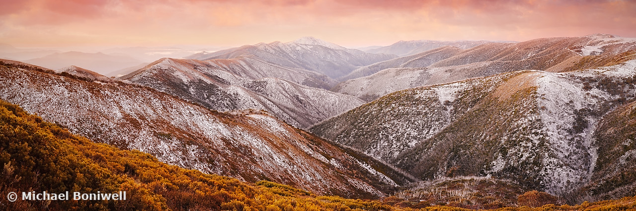 Mt Feathertop Sunset, Victoria, Australia