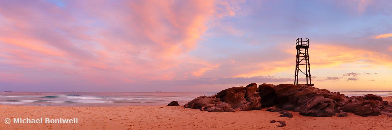 Day's End, Redhead Beach, Newcastle, New South Wales, Australia