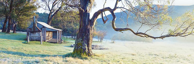 Oldfields Hut, Kosciuszko National Park, New South Wales, Australia