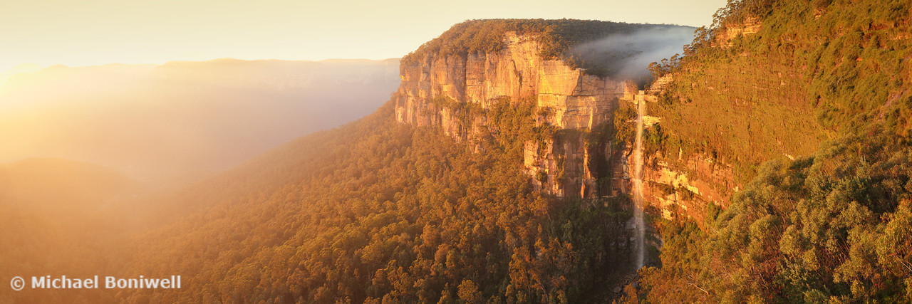 Bridal Veil Falls, Govetts Leap, Blue Mountains, New South Wales, Australia