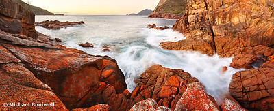 Sleepy Bay Sunrise, Freycinet National Park, Tasmania, Australia